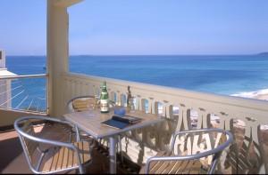 413 Casa Alegria: Blick von der Terrasse über die Bucht