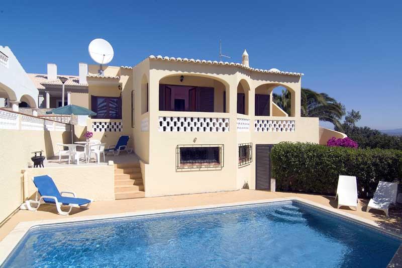 Villa Beatrix in Praia da Luz, Algarve, Portugal