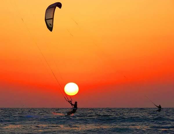 Kitesurfen lernen an der Algarve, Portugal