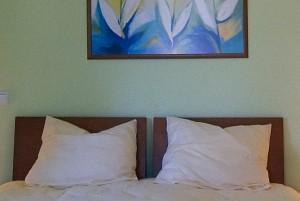Gepflegtes Ambiente für symmetrische Träume