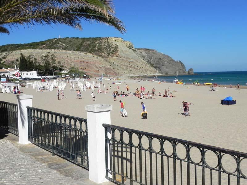 Strand von Praia da Luz